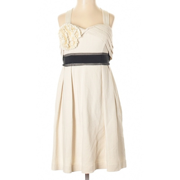 Anthropologie Dresses & Skirts - Anthropologie Deletta waffle knit corsage dress